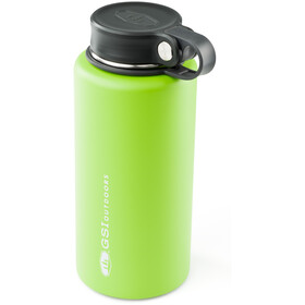 GSI Microlite Twist Vacuum Bottle green